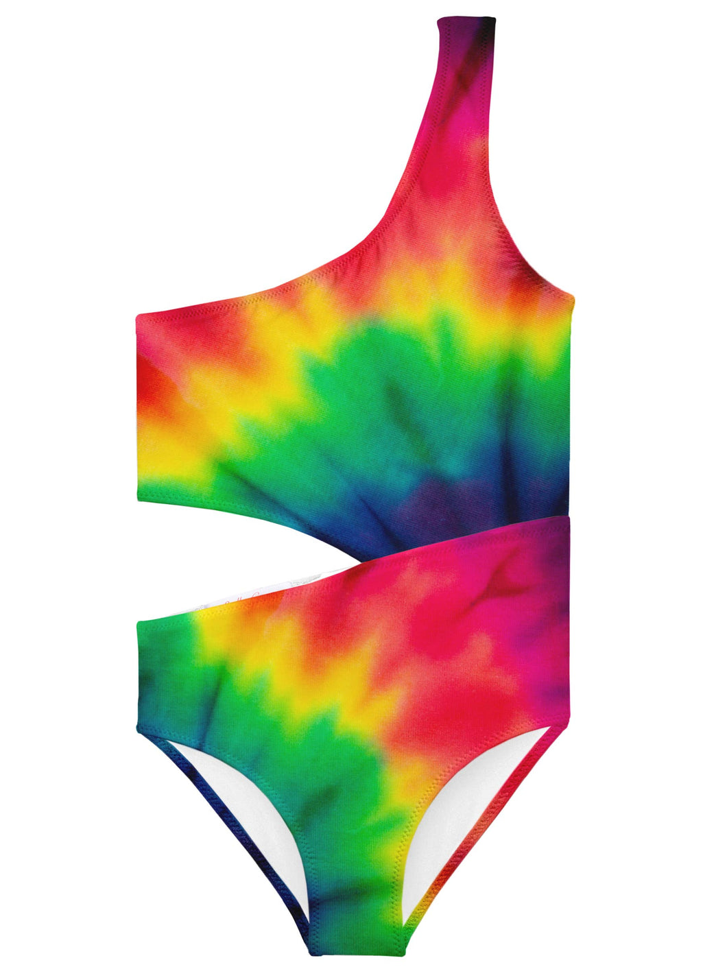 Colorburst Side Cut Out Swimsuit | Stella Cove