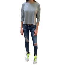 Load image into Gallery viewer, Long Sleeve Crop Tee | COMUNE