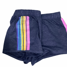 Load image into Gallery viewer, Navy Stripe Shorts | Firehouse
