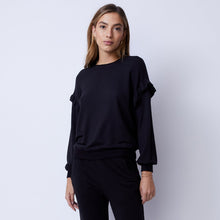 Load image into Gallery viewer, Supersoft Ruffle Sweatshirt | MONROW