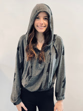Load image into Gallery viewer, Half Zip Hoodie | ARIELLA