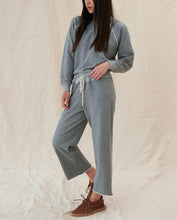Load image into Gallery viewer, The Wide Leg Cropped Sweatpant | THE GREAT