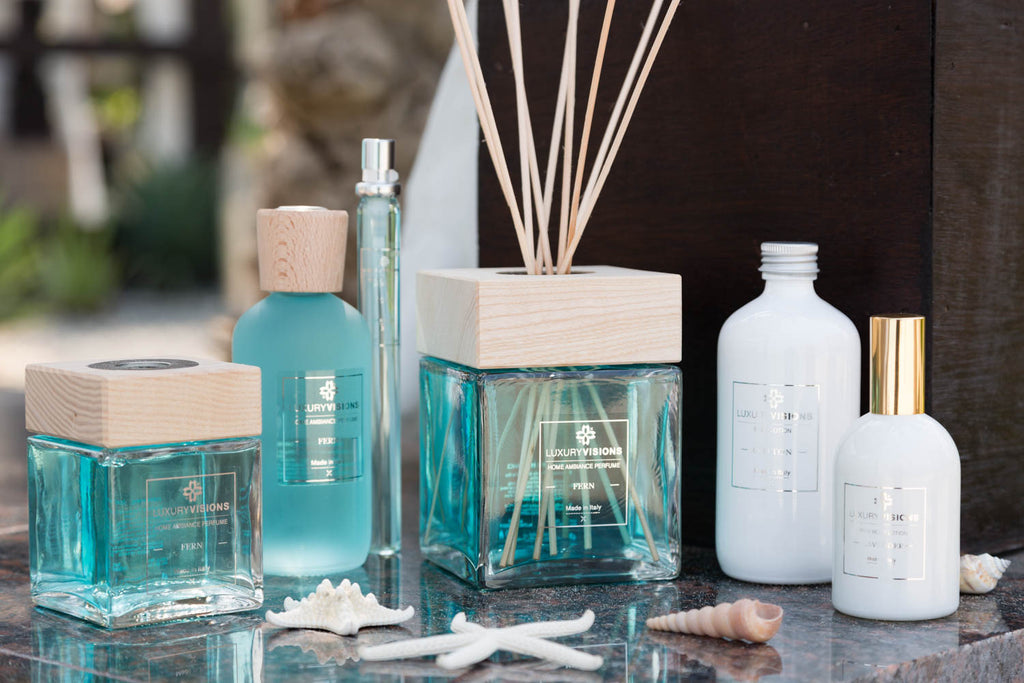 Pamper yourself with our special selection of home fragrances