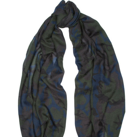 Cashmere Printed Scarf Begg & Co