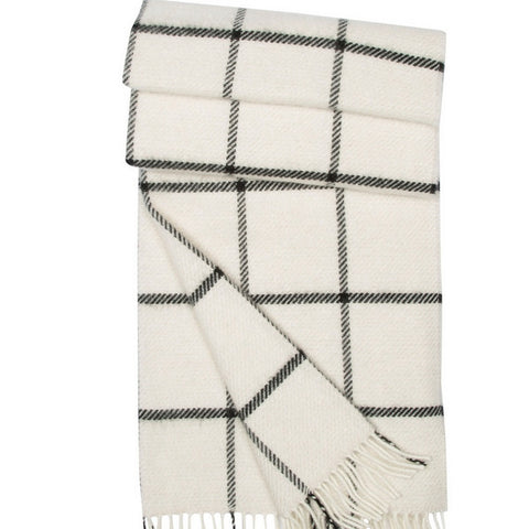 Lambs Wool and Angora Throw Begg & Co