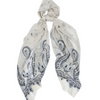 Woven Scarf Wispy Patterned Begg & Co