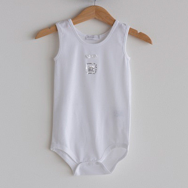 a26b87903213 Baby New Born Romper White – Bea e Martina