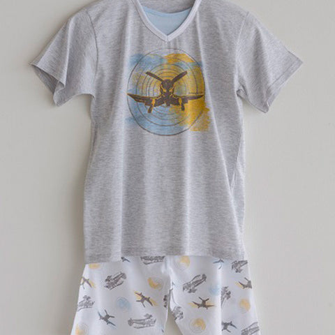 Boys Pajama Grey