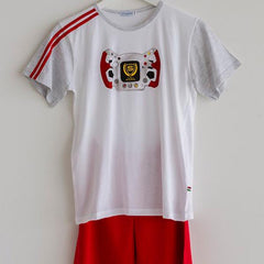 Boys Pajama T.Shirt and Short Red