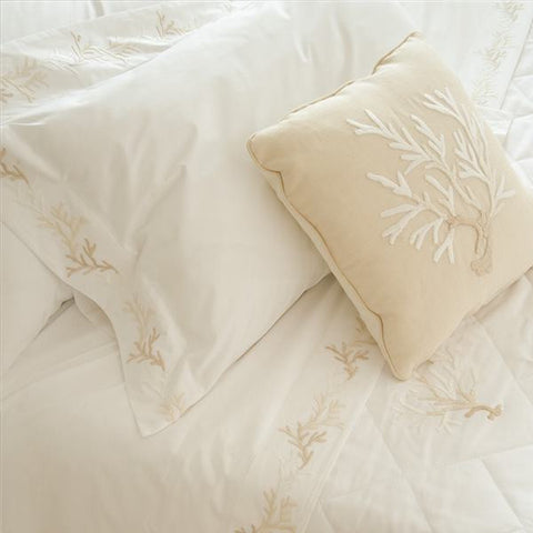 Coral Super King Duvet Cover Set Mastro Raphael