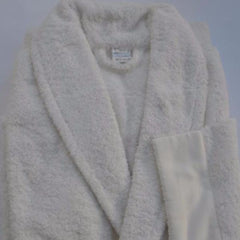Papilio For Men Bathrobe with Satin Lace Border by David Home