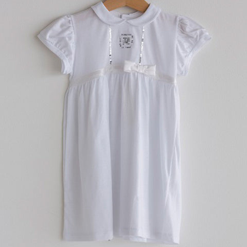 New Born Baby Dress White Girls
