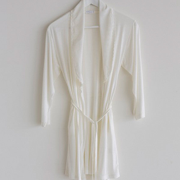 Dressing Gown Girls Cream – Bea e Martina