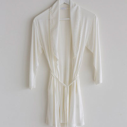 Dressing Gown Girls Cream