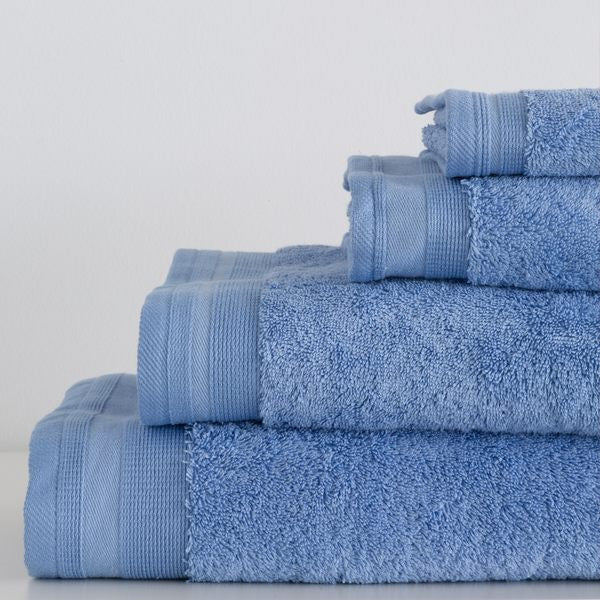 Towel 5 Pcs Set De Witte Lietaer Skyblue