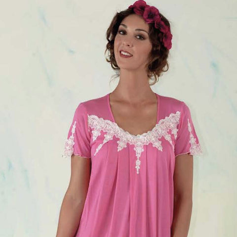 BEM Cap Sleeve Night Dress Jersey