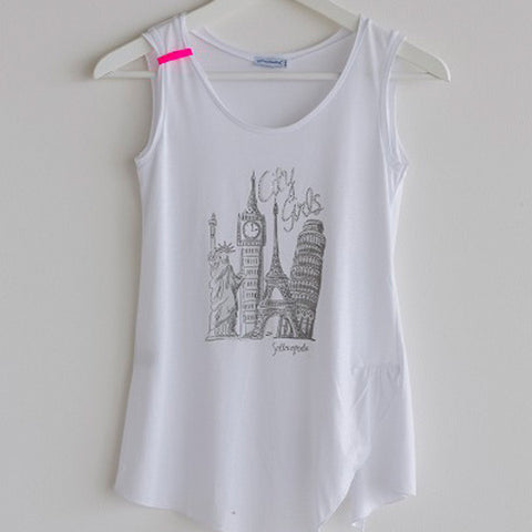 Girls TShirt City