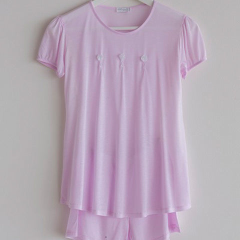 Girls Pajama Short Pink