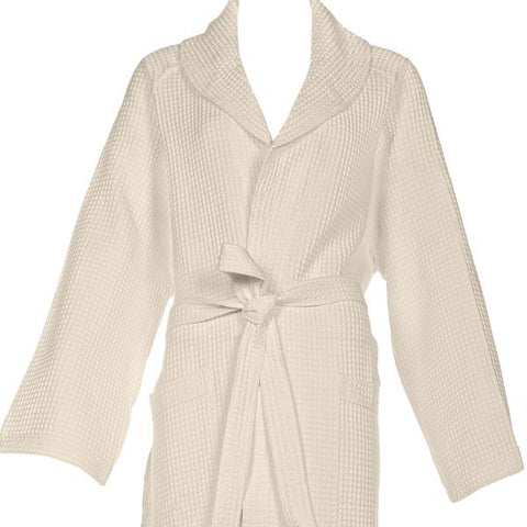 Adult Waffle Bathrobe Viscontea Last Pieces in Stock