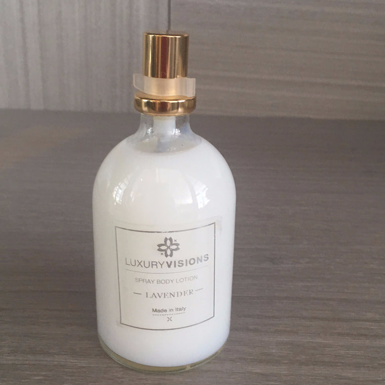Luxury Spray Lotion Silver Cap 250ml