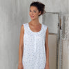 BEM Ladies Night Gown Flower Motif Display Item