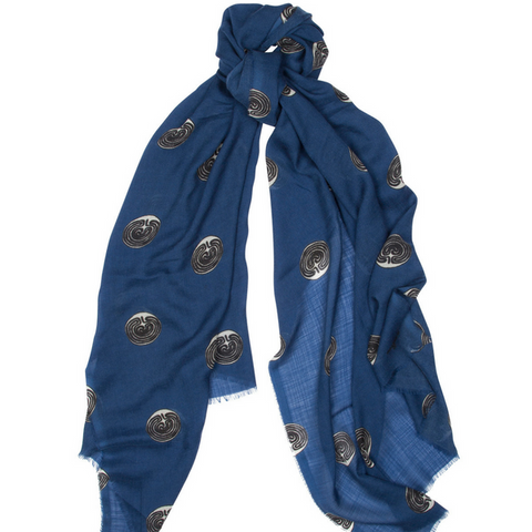 Limited Edition Maggie's Wispy Superfine Cashmere Scarf Begg & Co