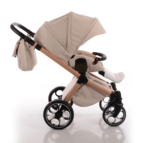 Nanan Duo Pram Stroller with Bag