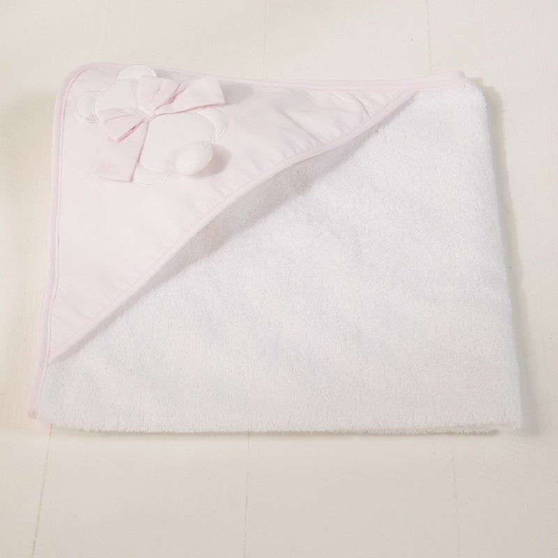 Newborn Bathrobe Fiocco Bow