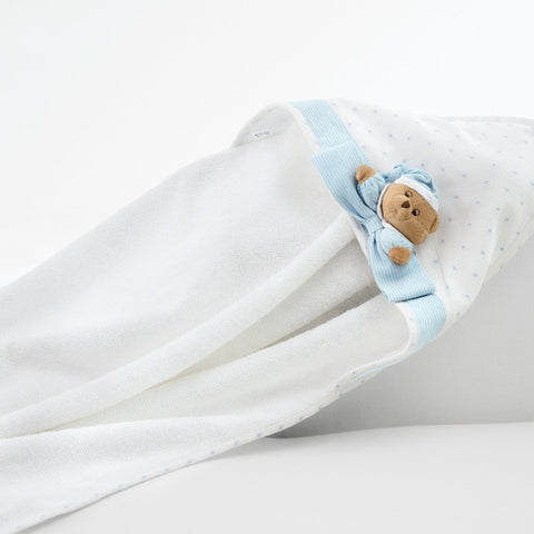 Newborn Bathrobe Teddy Bear Puccio