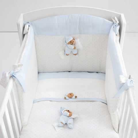 "Duvet Set for New Born- Teddy Bear ""Puccio"""