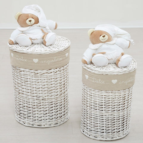 Set of 2 Chest Basket for Toys-Display Item
