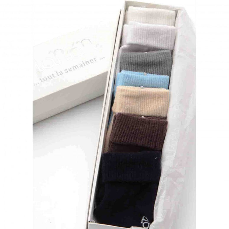 Socks Set Of 7 Various Color Boy