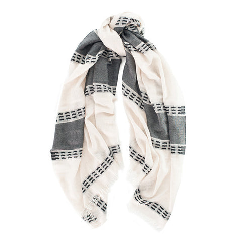 Cashmere and Silk Scarf Konyak Begg & Co