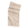 Cashmere and Linen Throw Begg & Co