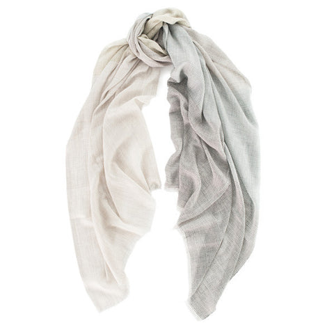 Cashmere and Silk Scarf Brington Begg & Co