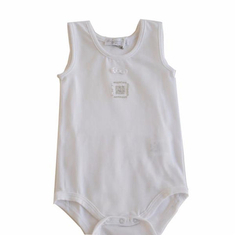 Baby New Born Romper White