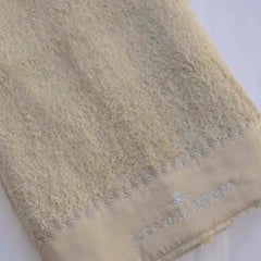 Dantelle Cotton Hand Towel with Flower Tip Embroidery by David Home