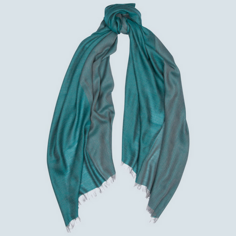 Cashmere Quad Woven Scarf Fiji Begg & Co