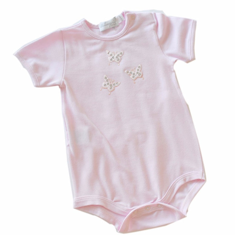 Baby New Born Romper Pink