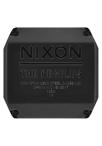 Nixon Regulus All Gunmetal