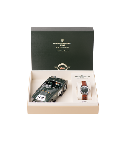 FC-303HGRS5B6 L/E Frederique Constant Watch Box and Package
