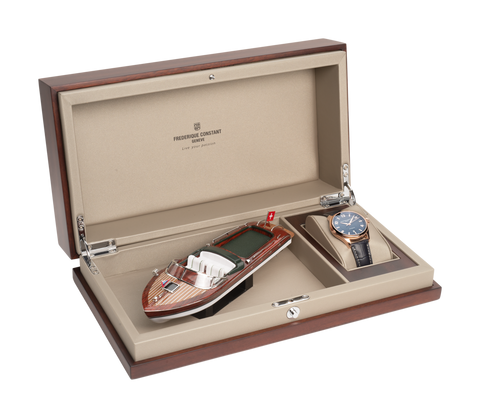 FC-303RMN5B6 Frederique Constant Watch and Package