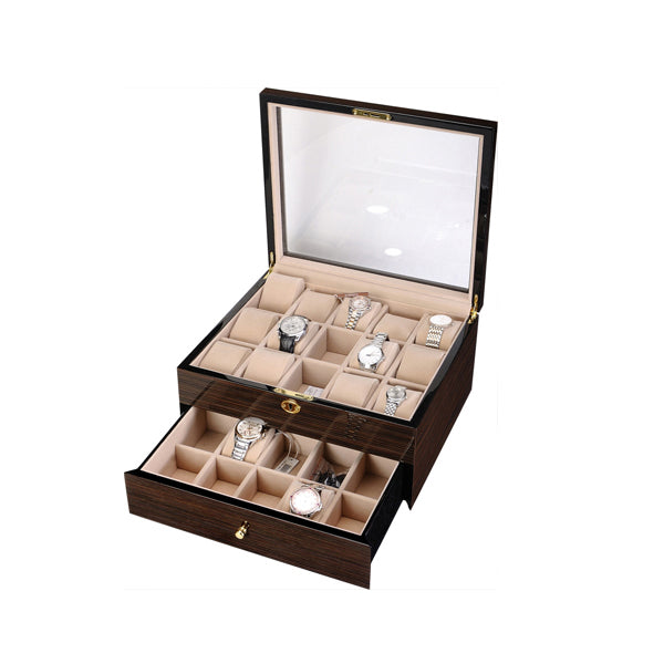 Watch Box high quality zebra wood piano