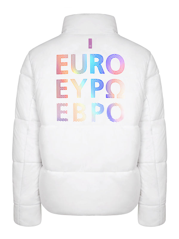 Euro Graphic Puffer Jacket