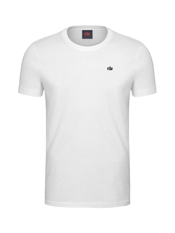 Plenus Logo Graphic Appliqué Cotton T-Shirt
