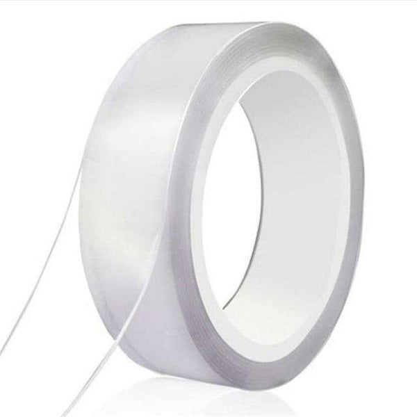 1M/2M/3M/5M Nano magic Tape Double Sided Tape Transparent No Trace Reusable Waterproof Adhesive Tape Cleanable Home gekkotape