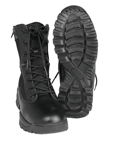 TACTICAL BOOT TWO-ZIP SCHWARZ