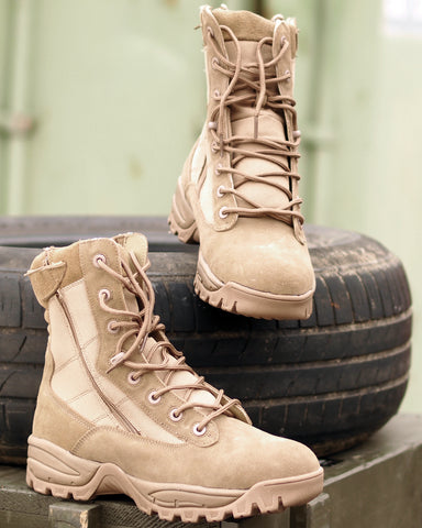 TACTICAL BOOT TWO-ZIP COYOTE