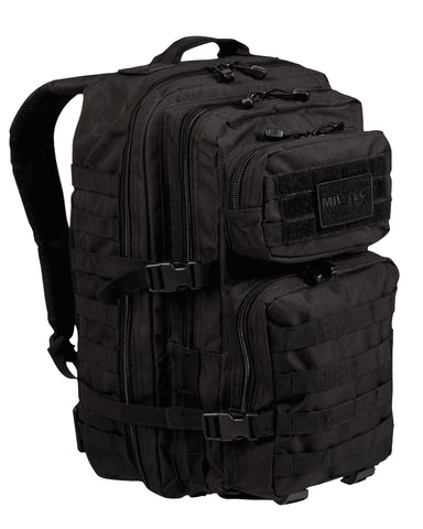 US ASSAULT PACK LARGE SCHWARZ