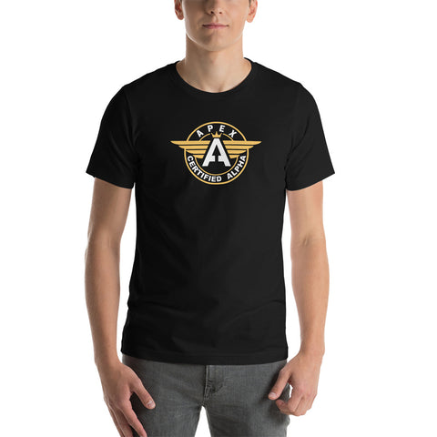 Certified APEX ALPHA hero Short-Sleeve Unisex T-Shirt